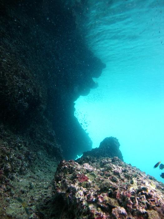 ลักษณะผาใต้น้ำ