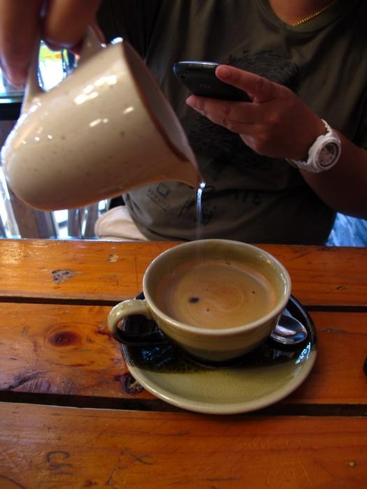 กาแฟหอมๆ รสเข้ม